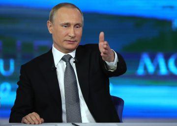 Putin elogia a Obama en su sesión anual de preguntas de ciudadanos