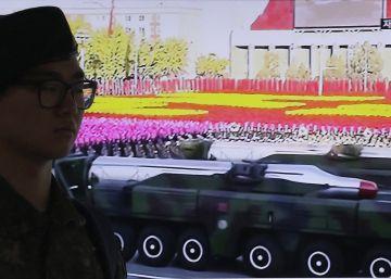 Corea del Norte falla en la prueba de un misil de alcance medio