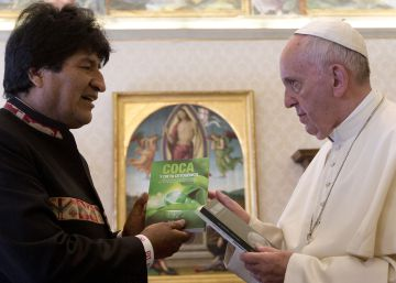 """Evo Morales recomienda al Papa que tome coca: """"Así aguanta"""""""