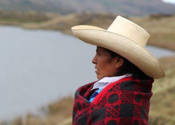 Una agricultora peruana, 'heredera' de Berta Cáceres