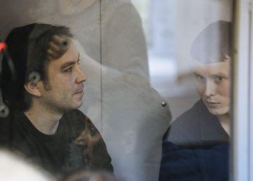 Ucrania condena a 13 y 14 años a dos soldados rusos por terrorismo