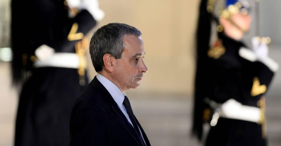 Laurent Stefanini, el pasado 10 de abril, en el Elíseo.
