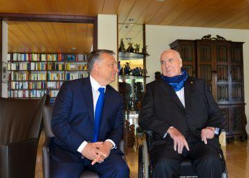 Kohl recibe a Orbán tras criticar la política migratoria de Merkel