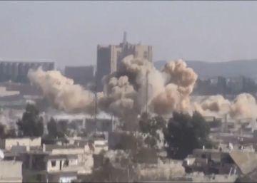 Así es la vida bajo las bombas de El Asad en una ciudad siria asediada
