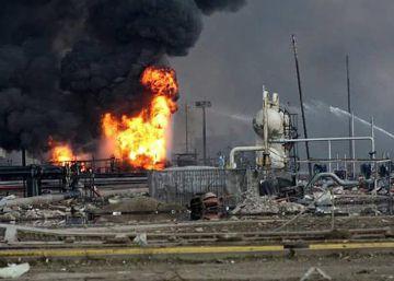 Una explosión causa 32 muertos en una planta petrolera en México