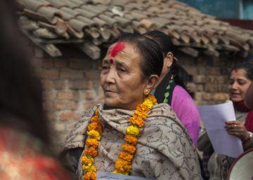 El temblor más duro de Nepal