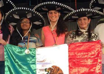 Una mexicana gana medalla de oro en la Olimpiada Europea de Matemáticas
