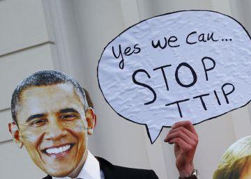 El tratado comercial con EE UU resucita el discurso antiglobalización