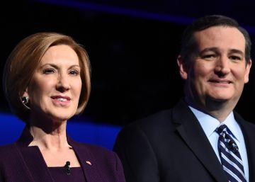 Ted Cruz elige a Carly Fiorina como candidata a la vicepresidencia
