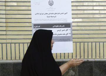 Rohaní recibe un fuerte respaldo en la segunda vuelta de las legislativas en Irán