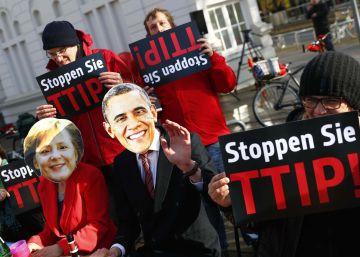 EE UU presiona en secreto para rebajar las reglas de la UE en el pacto comercial