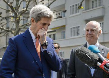 """EE UU busca un acuerdo con Rusia ante el conflicto """"fuera de control"""" en Siria"""