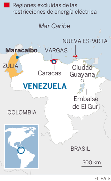 Localización de Maracaibo, Venezuela
