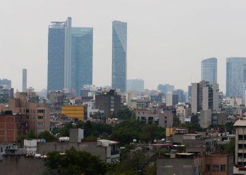 Así lució la Ciudad de México durante la contingencia de este 2 de mayo.