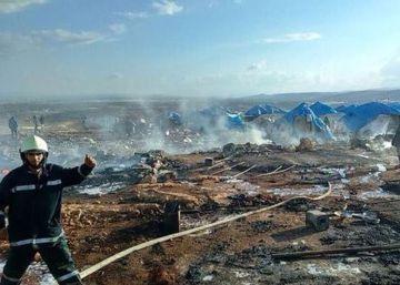 Pelo menos 28 mortos em ataque aéreo a campo de refugiados sírio