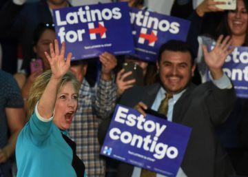 Clinton confia nos latinos para fechar as primárias na Califórnia