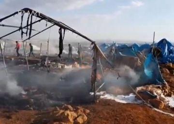 La ONU sospecha que fue el régimen sirio quien cometió la masacre del campo de desplazados