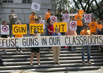 Texas permitirá portar armas en los campus universitarios públicos