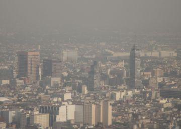 La Ciudad de México durante la crisis ambiental.