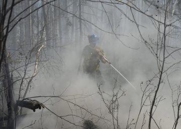 El incendio desatado en Canadá duplicará su extensión este sábado