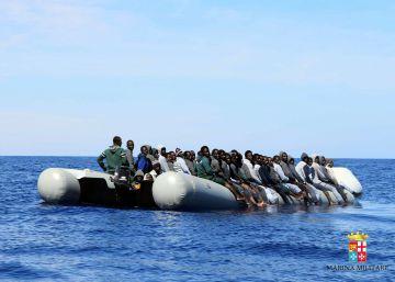 Rescatados 1.800 inmigrantes en 24 horas frente a las costas italianas