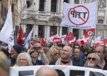 El rechazo social amenaza el acuerdo comercial entre la UE y EE UU