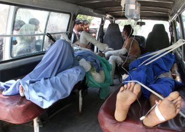 Al menos 73 muertos y decenas de heridos en un accidente en Afganistán