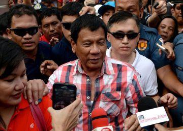 El candidato de agenda autoritaria se perfila como nuevo presidente filipino