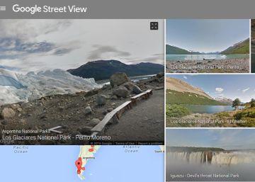 Los Parques Nacionales argentinos se pueden recorrer con Street View