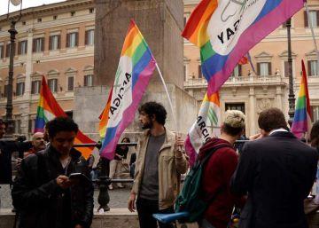Italia aprueba una ley histórica de uniones civiles homosexuales