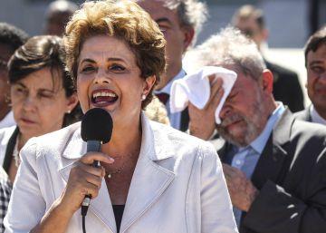 Rousseff apela a la movilización para revertir su salida del poder