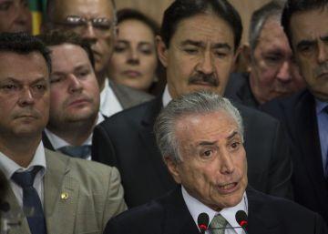 Brasil, sin presidenta, sin mujeres ministras y con primera dama