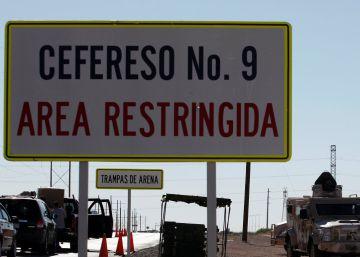 México 'limpia' de sicarios la nueva cárcel de El Chapo para evitar que le ataquen