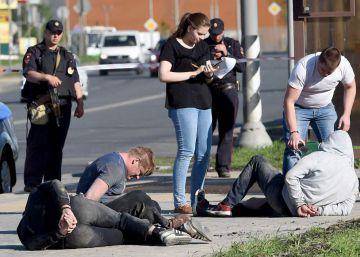Tres muertos y 23 heridos durante una pelea en un cementerio de Moscú