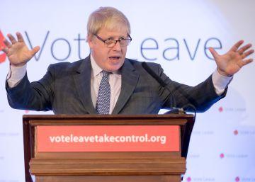 Boris Johnson acusa a la UE de seguir los pasos de Hitler y Napoleón