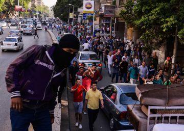 Egipto encarcela a 152 personas por la manifestarse pacíficamente