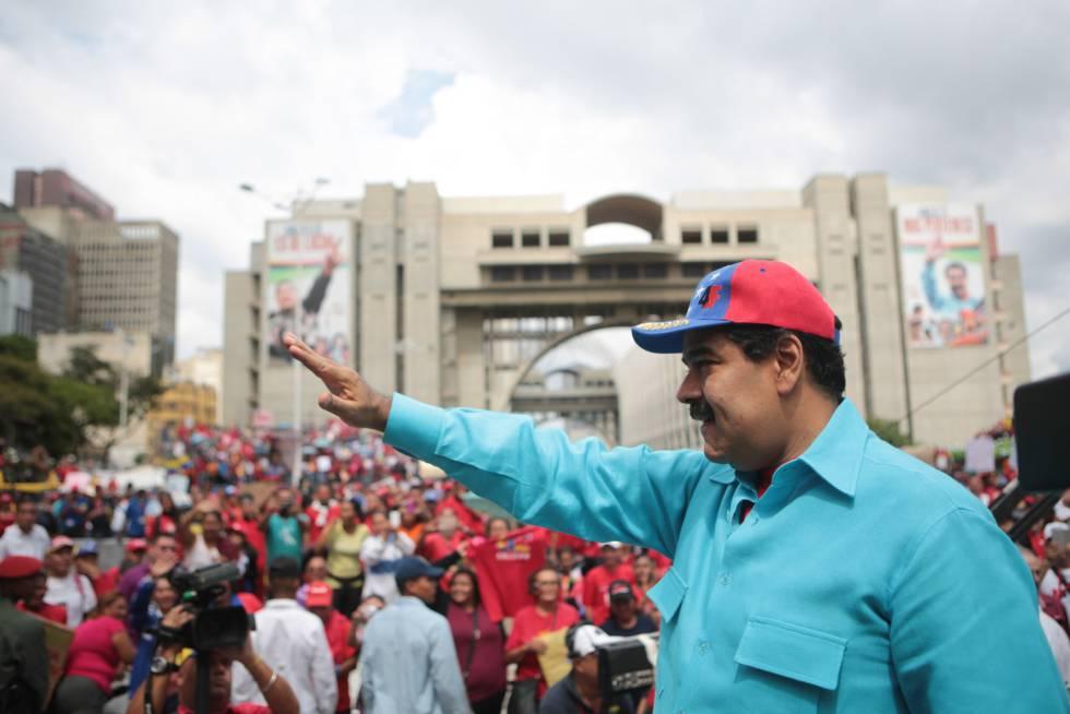 Nicolás Maduro, en Caracas