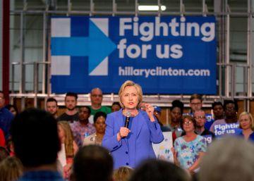 Los rostros de la defensa de los inmigrantes salen en apoyo de Clinton