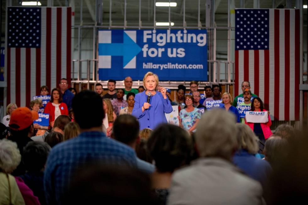 Clinton, esta semana en Kentucky.