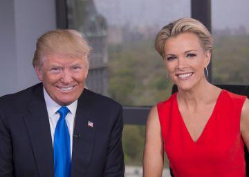 Donald Trump hace las paces con Megyn Kelly, la periodista a la que insultó