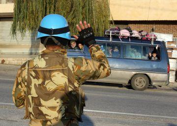La ONU afirma que investiga la reventa de alimentos en Líbano por Cascos azules