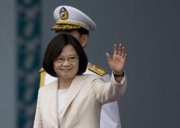 Una mujer asume por primera vez la presidencia de Taiwan