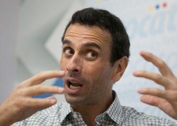 """Capriles: """"Maduro prefere um golpe de Estado na Venezuela a um referendo"""""""