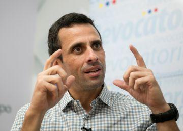 """Capriles: """"Maduro prefiere un golpe de Estado a un revocatorio"""""""