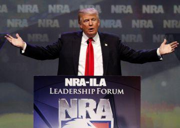 El lobby de las armas respalda la candidatura de Donald Trump