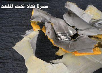 Egipto muestra las primeras imágenes de los restos del Airbus localizados