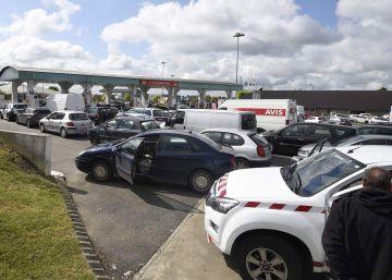 Las protestas provocan escasez de combustible en las gasolineras de Francia
