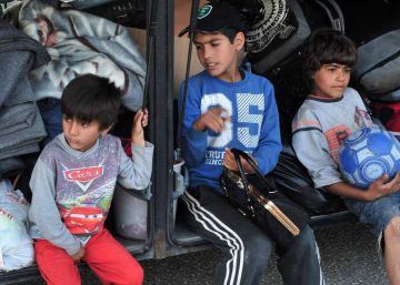 Grecia inicia la evacuación del campo de refugiados de Idomeni