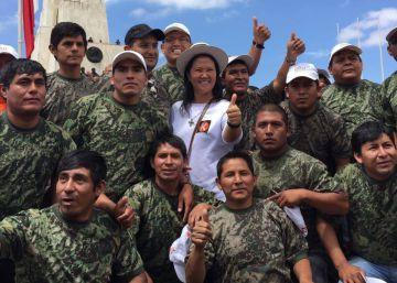 Los reservistas, la fuerza de choque de Keiko Fujimori
