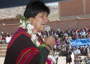 Evo Morales plantea hacer otro referendo sobre su reelección